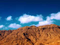небо, природа, горы