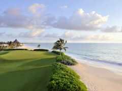 golf, playa, del