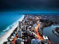 города, пейзажи, мегаполисов