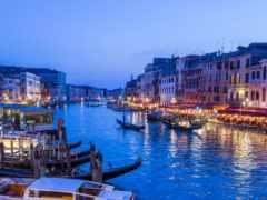 canal, venezia, grand