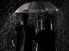 дождь, love, пара