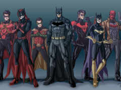batman, семья, robin