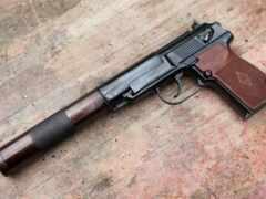 пистолет, макарова,