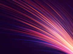 линия, fractal art, пурпур, фиалка
