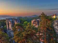 region, чехия, природа