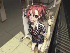 anime, девушки, anifox