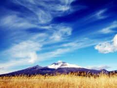 небо, ясное, со
