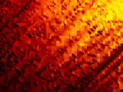 оранжевый, abstract, ноутбук