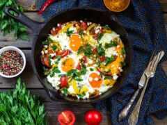 shakshuk, блюдо, завтрак