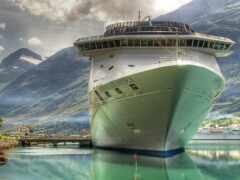 лайнер, cruise, корабль