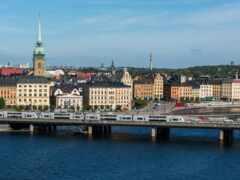 мост, фон, stockholm