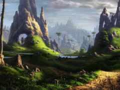 fantasy, art, landscape