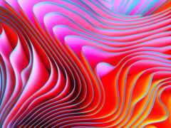abstract, apple, twirl