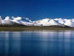 природа, озеро, картинку