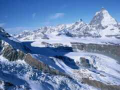 гора, winter, картинка