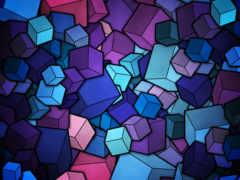 вектор, кубики, фигуры