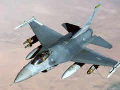 fighting, falcon, самолёт
