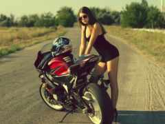 мотоцикл, suzuki, мото