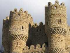 architecture, castillo, wooden