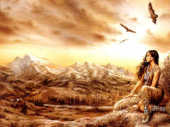 девушка на горы, fausto