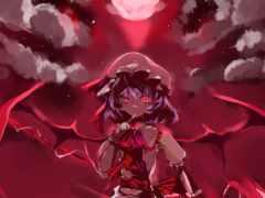 scarlet, remilia, девушка