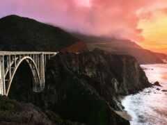 мост, bixby, california