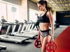 женщина, машина, упражнение