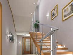 design, стальной, лестница