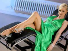 devushki, платье, зеленом