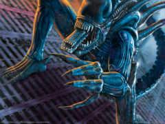 хищник, aliens, против