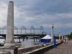 абхазия, мост, аттракцион