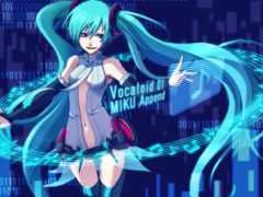 miku, hatsune, vocaloid
