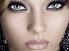 глаз, макияж, девушка