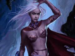 девушка, женщина, эльфийка