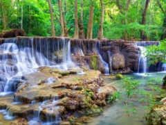fototapet, cascada, водопад