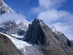 горы, острые, камни