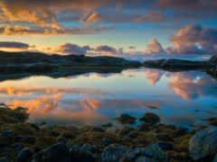 норвегии, norwegian, озеро