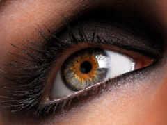 глаз, женский, глаза
