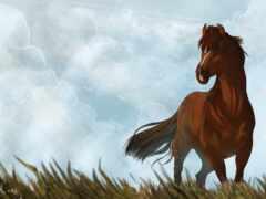 лошадь, арта, интернет