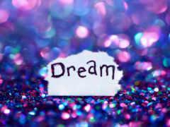 you, надпись, dream