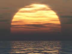 закат, море Фон № 32552 разрешение 1920x1200