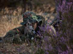 hunt, одеть, солдат