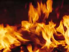 огонь, house, fundo