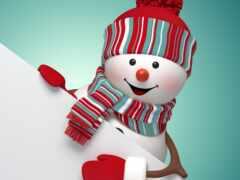 снеговик, stokovyi, festive