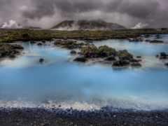 lagoon, голубая, исландии