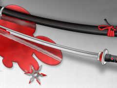 катана, оружия, меч
