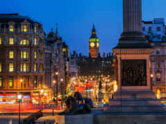 london, square, trafalgar
