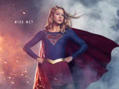 supergirl, плакат, season