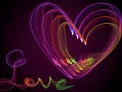 love, сердце, abstract