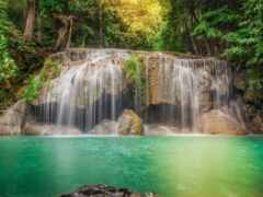 водопад, природа, cachoeira